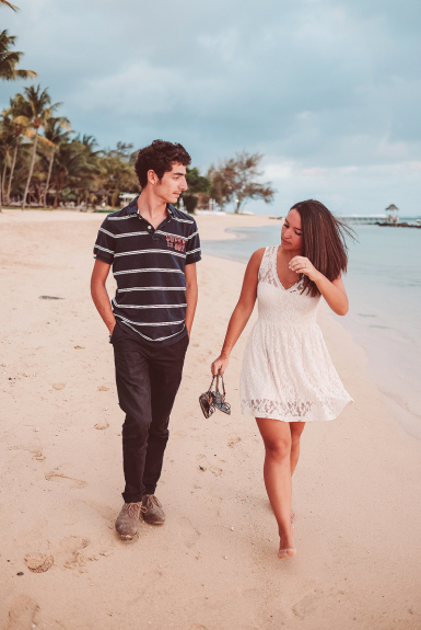 Kristy & Fotis Mauritius Engagement Shoot