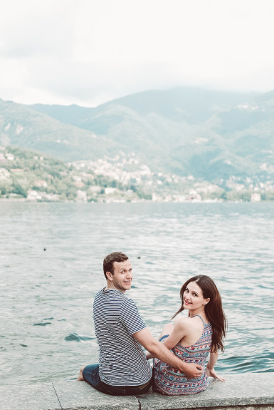 Kate & Kirill – Milan Engagement Shoot
